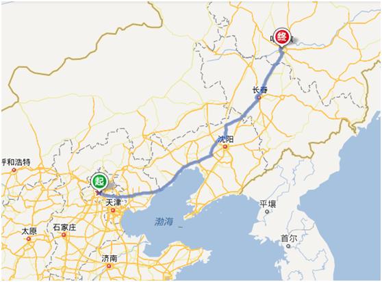 北京到哈尔滨自驾路线,费用,时长及沿途景点