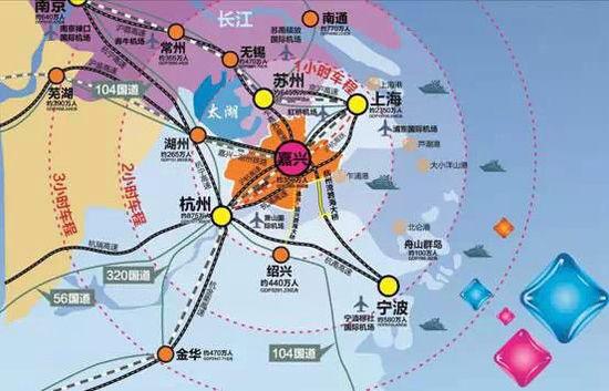 目前,长江三角洲城市群是中国城市化程度最高,城镇分布最密集,经济