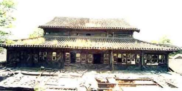 北新桥的海眼历史记载被动过两回,一次是日本鬼子进北京