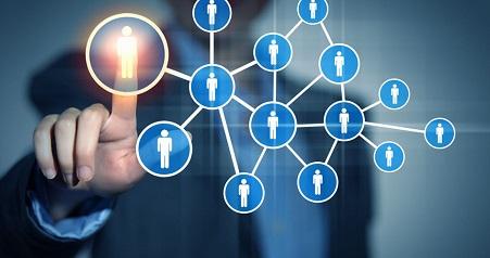 金融公司职位结构图