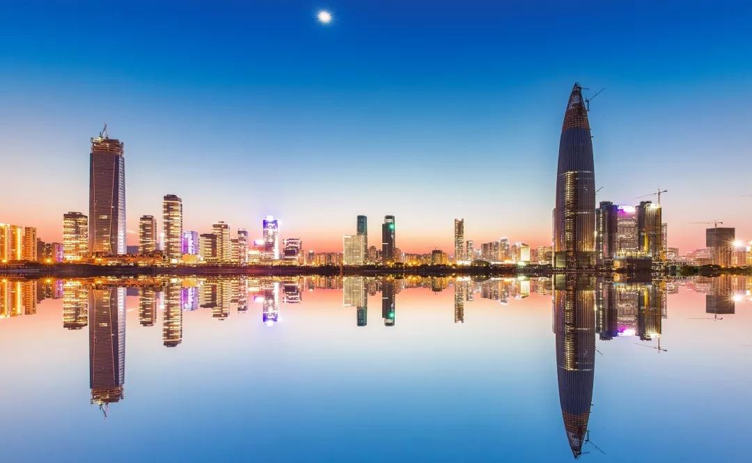 深圳后海城市天际线
