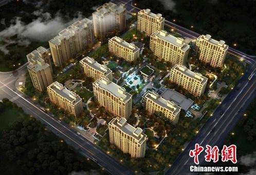 资料图:北京西南五环一处豪宅项目。