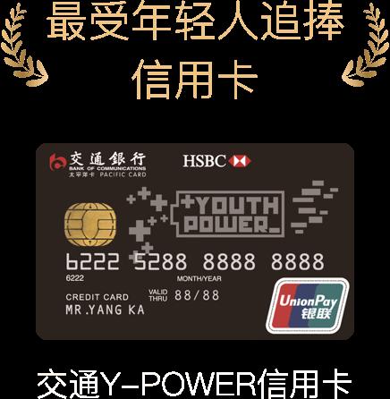 信用卡奖项图
